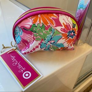 NWT Lilly for Target Nosey Posey Cosmetic Bag
